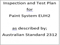 ITP for paint system EUH2 as described by Australian Standard 2312