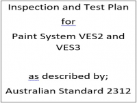 ITP for paint system VES2 and VES3 as described by Australian Standard 2312