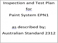 ITP for paint system EPN1 as described by Australian Standard 2312