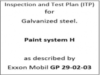 ITP for paint system H as described by Exxon Mobil GP-29-02-03